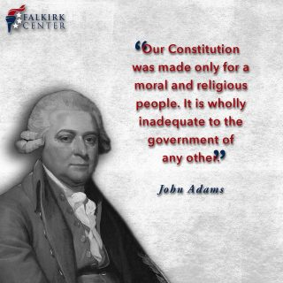 Our founding fathers, despite their many differences, all recognized that a governing document must be rooted in objective morality. Laws exist because there is a universal moral code. For the founding fathers, religion-- namely the Christian moral ethic, was the foundational influence in framing our government of divided authority and diffused power in a system of checks and balances and ordered liberty. The Constitution can only work in a moral and religious society.