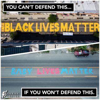 "Black Lives Matter doesn't care about the lives of the unborn. They don't even really care about black lives. The BLM organization exists for the purpose of dismantling the American system of freedom and replacing it with the tyranny of Marxism. One of their founders said as much when she proudly touted that they were ""trained Marxists."" Christians need to lead as the true champions of life. Not only does our faith actually teach us to care about every man & woman, but also to care about them while they are still in the womb. Life is not a priority on the left; power is, and they use certain lives as props to get that power."