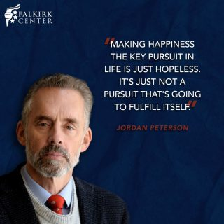 Happiness is a temporary pleasure that provides no lasting fulfillment. We do not live just to have fun or live to satisfy the desires of our flesh; we have a calling to pursue God's will for our lives, and that is how we will find lasting joy.