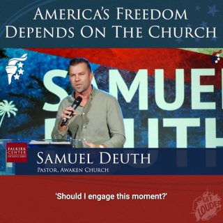 """There is no saving America without the church. We are a Christian nation, founded on Christian ideals. """"In God We Trust"""" is the pinnacle of who we are. If we let that go, the very idea of America will be swept away with it."""