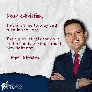 The future of America is uncertain, but we can find rest knowing that our lives are ultimately in the hands of our almighty God. His will is guaranteed. Take heart, Christians, He has overcome the world!