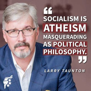 Socialism is a humanistic philosophy. It hinges on the anti-Christian idea that man is little more than a social construct for social utility, & rejects  the imago dei. It is mere atheism in political disguise.
