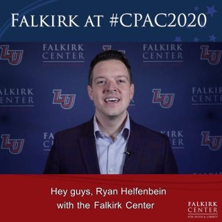 Have you been keeping up with us on social media? Check out our story for a sneak peek at the interviews coming your way this week and next as our Executive Director @ryanhelfenbein & some of our Falkirk Fellows had the chance to interview a variety of personalities at #CPAC2020! . . . #FalkirkCenter #Christian #Conservative #Constitution #Rights #Liberty