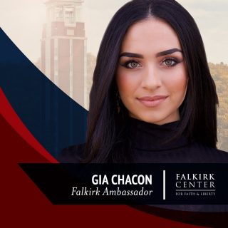 Falkirk Center is proud to announce that Gia Chacon [ @genuinelygia ] has come aboard as a #FalkirkCenter Ambassador. She is the founder of @marchforthemartyrs, an organization dedicated to the remembrance of Christian martyrs and committed to helping Christians across the globe who face persecution today. . . . We stand with @marchforthemartyrs in its effort to end religious persecution, especially against Christians, within the United States and across the globe. Welcome @genuinelygia! . . . #PersecutedChurch #Martyrs #Christian #Church #Life #Liberty #FalkirkCenter