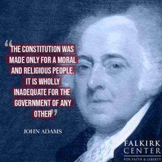 What's missing in our conversations about the Constitution? Its moral and religious principles that made liberty possible for all people. . . . . #FalkirkCenter #JohnAdams #Constitution #FoundingFathers #Religion #Government #Liberty