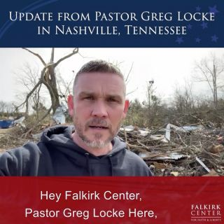 "We've got an update from @pastorlocke about the conditions in the area of Nashville and Middle Tennessee following the deadly tornadoes. Keep the people of the area in your prayers and remember that you can donate to @globalvisionbc to help fund their #TennesseeTornado recovery efforts. Follow the link in their bio to the ""Give"" page! . . . #FalkirkCenter #Tennessee #Tornadoes #Disaster #DisasterRelief #Donation"