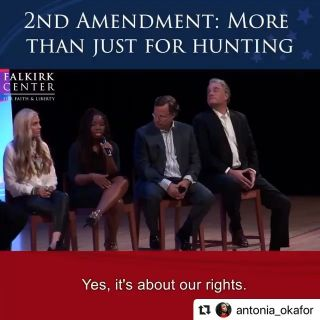 #Repost @antonia_okafor ・・・ One of my favorite conversations on the 2nd amendment. Christians should think of the topic based on the fact that we have the opportunity to be protectors and defenders like Christ calls us to be. #falkirkcenter #2a #libertyuniversity