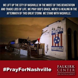 Please join us in praying for many grieving families, communities and the entire city of Nashville in the midst of this devastating loss.  If you are looking for ways to help click the link in our Bio/Profile Page to donate to Samaritan's Purse US Disaster Relief Fund.