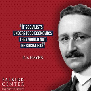 5 Fast Facts about Socialism: 1. Socialism denies the right to private property. If the government deems what you own to be better suited under their control, you must give up your ownership. 2. Socialism is the prerequisite to communism. Every socialist nation will either end in communism or return to capitalism. 3. Socialism is responsible for the deaths of more than 100 million people - over 6 times the number of Jews murdered in the holocaust.  4. Socialism boasts a 0% success rate. Every economy that has adopted socialism has ended in abject poverty. 5. Democratic Socialism is still socialism. Democratic just means that it was voted for. Just because a majority of people vote for something, doesn't make it right or beneficial. . . . #FalkirkCenter #Liberty #Capitalism #Socialism #Economics #Economy #Poverty #America
